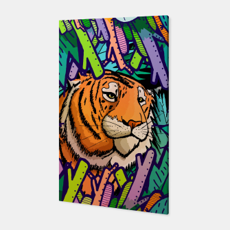 Imagen en miniatura de tiger in the undergrowth  Canvas, Live Heroes