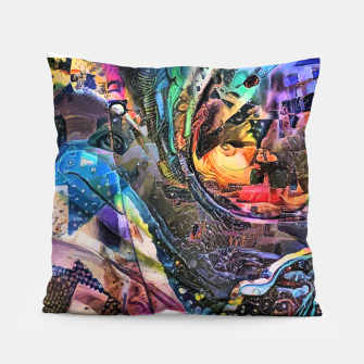 Miniatur Evolving Waves Pillow, Live Heroes