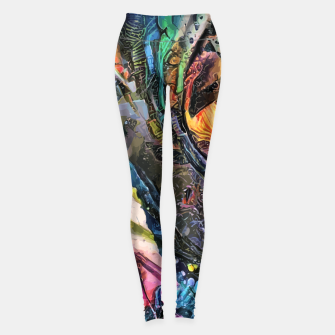 Thumbnail image of Evolving Waves Leggings, Live Heroes