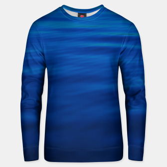 Thumbnail image of Dull Blue Waves Cotton sweater, Live Heroes