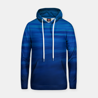 Thumbnail image of Dull Blue Waves Cotton hoodie, Live Heroes