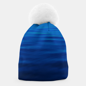 Thumbnail image of Dull Blue Waves Beanie, Live Heroes