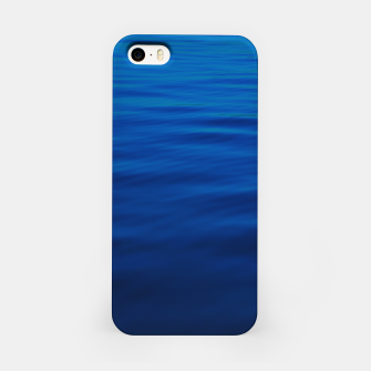 Thumbnail image of Dull Blue Waves iPhone Case, Live Heroes
