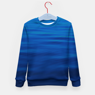 Thumbnail image of Dull Blue Waves Kid's sweater, Live Heroes