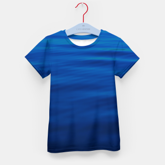 Thumbnail image of Dull Blue Waves Kid's t-shirt, Live Heroes