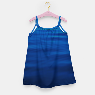 Thumbnail image of Dull Blue Waves Girl's dress, Live Heroes