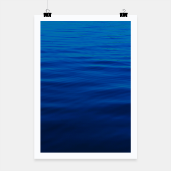 Thumbnail image of Dull Blue Waves Poster, Live Heroes