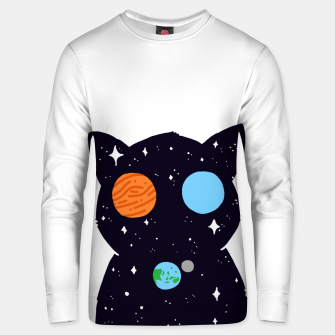 Thumbnail image of THE UNIVERSE IS ALWAYS WATCHING YOU! Cotton sweater, Live Heroes
