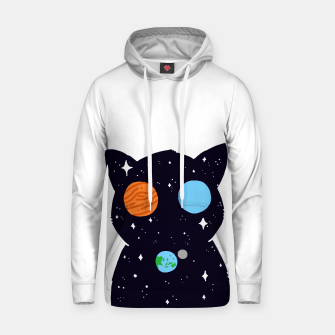 Thumbnail image of THE UNIVERSE IS ALWAYS WATCHING YOU! Cotton hoodie, Live Heroes