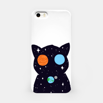 Miniature de image de THE UNIVERSE IS ALWAYS WATCHING YOU! iPhone Case, Live Heroes