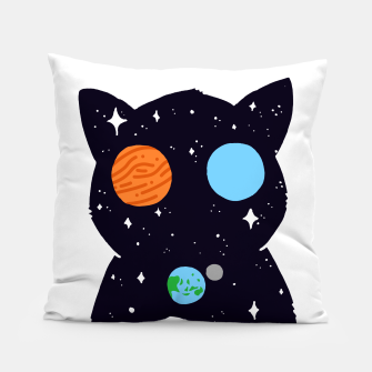 Miniature de image de THE UNIVERSE IS ALWAYS WATCHING YOU! Pillow, Live Heroes