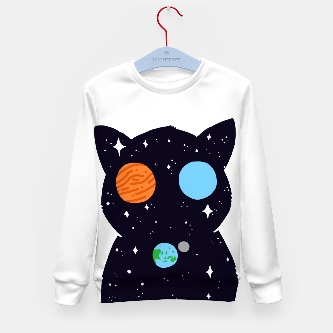 Image de THE UNIVERSE IS ALWAYS WATCHING YOU! Kid's sweater - Live Heroes