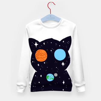 Miniaturka THE UNIVERSE IS ALWAYS WATCHING YOU! Kid's sweater, Live Heroes