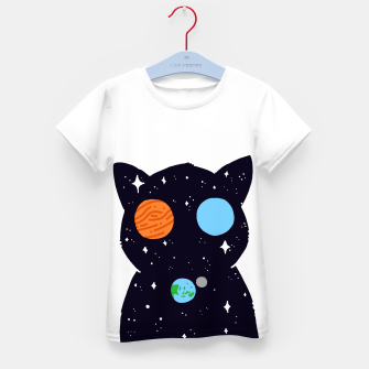 Thumbnail image of THE UNIVERSE IS ALWAYS WATCHING YOU! Kid's t-shirt, Live Heroes