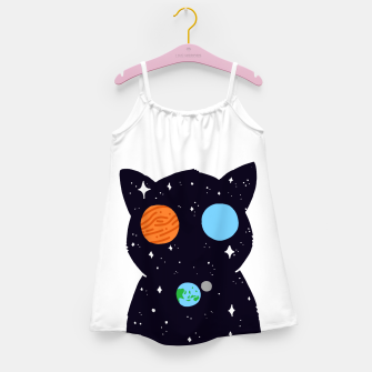 Thumbnail image of THE UNIVERSE IS ALWAYS WATCHING YOU! Girl's dress, Live Heroes