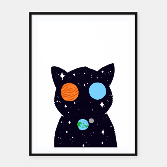 Thumbnail image of THE UNIVERSE IS ALWAYS WATCHING YOU! Framed poster, Live Heroes