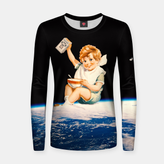 Imagen en miniatura de Hungry Boy Woman cotton sweater, Live Heroes