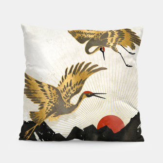 Thumbnail image of Elegant Flight II Pillow, Live Heroes