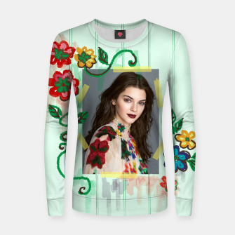 Thumbnail image of Kendall Jenner Pull femme en coton, Live Heroes