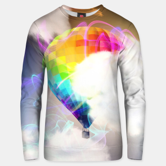 Thumbnail image of Traveling colors Cotton sweater, Live Heroes