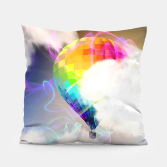 Thumbnail image of Traveling colors Pillow, Live Heroes