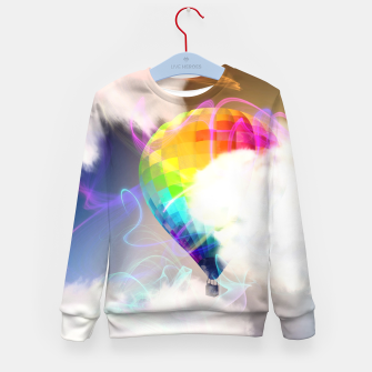 Thumbnail image of Traveling colors Kid's sweater, Live Heroes