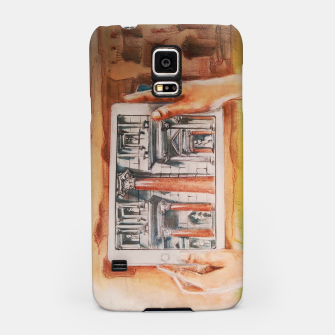 Thumbnail image of surreal landscape of rome past presente future Yulia A Korneva Samsung Case, Live Heroes