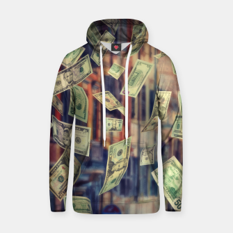 Miniatur Faling Money Cotton hoodie, Live Heroes