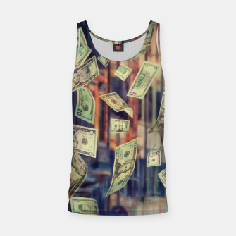 Miniatur Faling Money Tank Top, Live Heroes