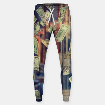 Faling Money Cotton sweatpants Bild der Miniatur