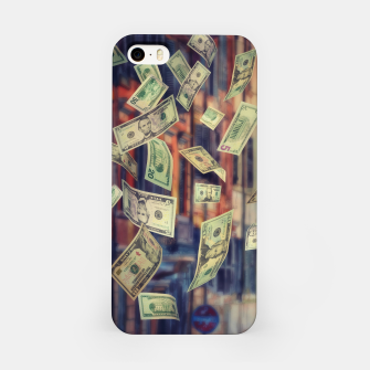 Faling Money iPhone Case Bild der Miniatur