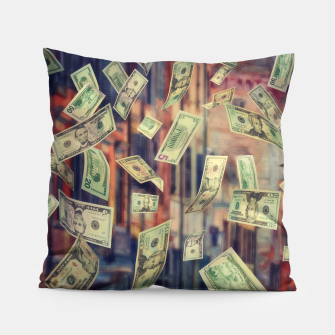 Faling Money Pillow Bild der Miniatur