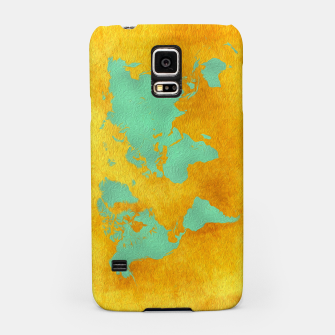 Thumbnail image of world map gold green  Obudowa na Samsunga, Live Heroes