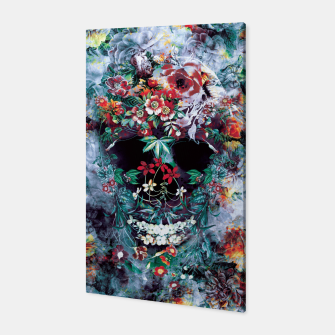 Thumbnail image of Skull Flower Canvas, Live Heroes