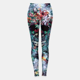 Thumbnail image of Skull Flower Leggings, Live Heroes