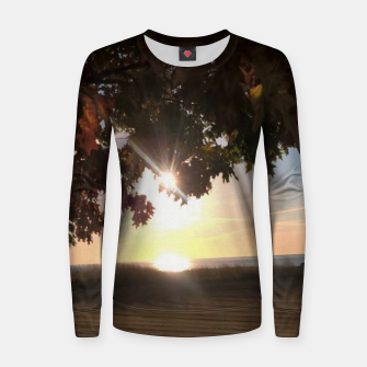 Thumbnail image of Nine Oclock Sunrise Kenosha Womens Sweater, Live Heroes