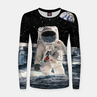 Imagen en miniatura de Cold Space Woman cotton sweater, Live Heroes