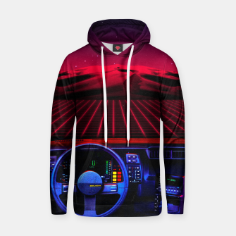Thumbnail image of Night Drive Cotton hoodie, Live Heroes