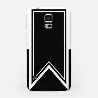 Thumbnail image of Black and White Minimalistic Design Samsung Case, Live Heroes