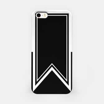 Thumbnail image of Black and White Minimalistic Design iPhone Case, Live Heroes