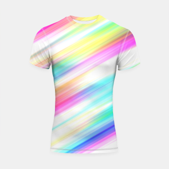 Thumbnail image of Colourful Spectrum Painting Design Shortsleeve rashguard, Live Heroes