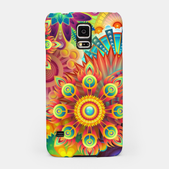 Cracy Mandala Rainbow Design Samsung Case thumbnail image