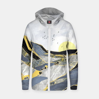 Thumbnail image of Summer Valley Cotton zip up hoodie, Live Heroes