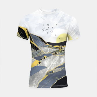 Thumbnail image of Summer Valley Shortsleeve rashguard, Live Heroes