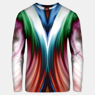Thumbnail image of Whirlwind Rainbow Golden Snow Mirror Cotton sweater, Live Heroes