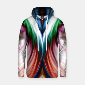 Thumbnail image of Whirlwind Rainbow Golden Snow Mirror Cotton hoodie, Live Heroes