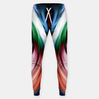 Thumbnail image of Whirlwind Rainbow Golden Snow Mirror Cotton sweatpants, Live Heroes