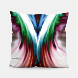 Thumbnail image of Whirlwind Rainbow Golden Snow Mirror Pillow, Live Heroes