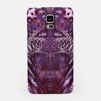 Thumbnail image of Magenta and Maroon Fractal Wave Samsung Case, Live Heroes