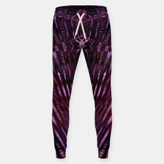 Divinite Purple Cotton sweatpants Bild der Miniatur